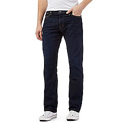Levi's - 504&#8482 the rish blue rinse straight fit jeans