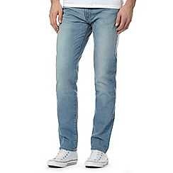 Levi's - 511&#8482 aber light blue vintage wash slim fit jeans