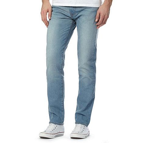 levi 39 s 511 aber light blue vintage wash slim fit jeans. Black Bedroom Furniture Sets. Home Design Ideas