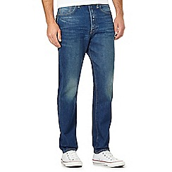Levi's - 501® CT dalston mid blue wash tapered leg jeans