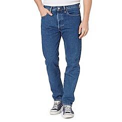 Levi's - 501® CT tonopah mid blue rinse straight leg jeans