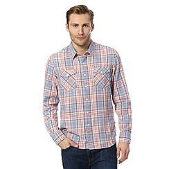 Levi's - Red checked long sleeve shirt