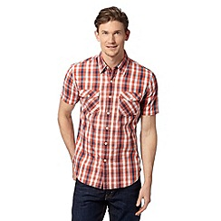 Levi's - Red grid checked shirt