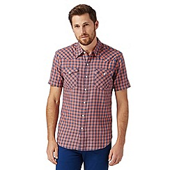 Levi's - Red checked short sleeved shirt