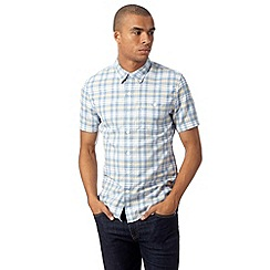 Levi's - Blue checked utility shirt