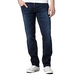 Wrangler - Greensboro el camino blue dark wash jeans