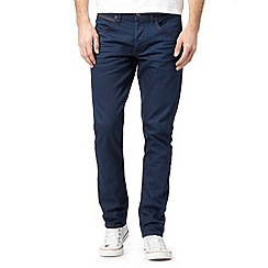 Wrangler - Colton bait blue raw tapered leg jeans