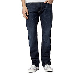 Lee - Blake bolt blue dark wash straight leg jeans