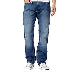 Lee - Blake alden blue mid blue straight leg jeans