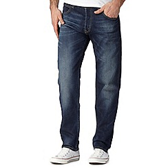 Lee - Chase blue denim relaxed fit jeans