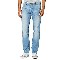 Lee - Light blue vintage wash slim fit jeans