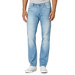 Lee - Light blue vintage wash slim fit jeans