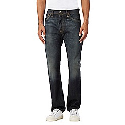 Levi's - Big and tall 501® dusty black straight leg jeans