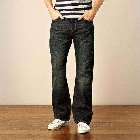 Levi+s - 527&#8482 seaweed dark blue bootcut jeans