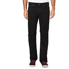 Levi's - Black straight regular fit chinos
