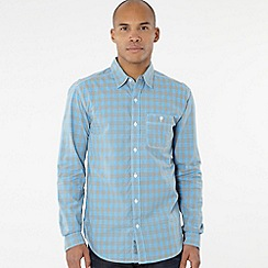 Levi's - Light blue gingham shirt