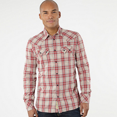 Levi+s - Red +Sawtooth+ checked shirt