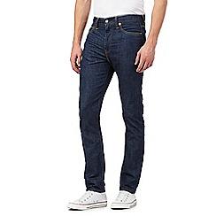 Levi's - 510&#8482 raw blue skinny fit jeans