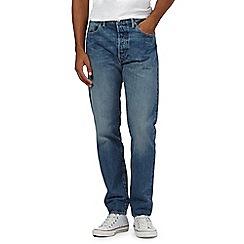 Levi's - 501 mid wash blue jeans