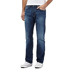 Levi's - Big and tall 501® blue mid wash jeans