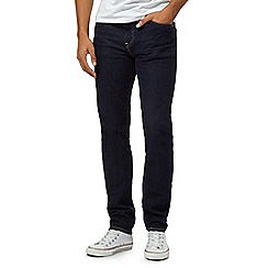 Levi's - 511&#8482 dark wash blue slim fit jeans