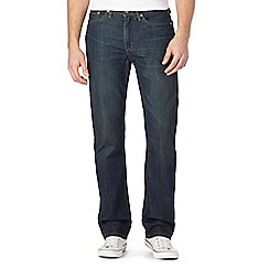 Levi's - 514&#8482  vintage wash blue straight fit jeans