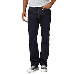 Levi's - 514&#8482 rinse wash dark blue straight leg jeans