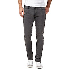 Levi's - 511&#8482 grey raw wash slim jeans