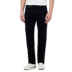 Levi's - Navy 514 straight fit jeans