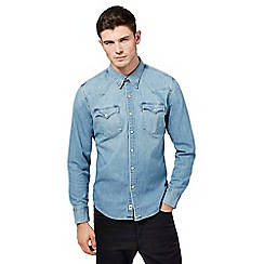 Levi's - Light blue wash denim shirt