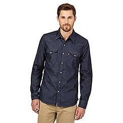 Levi's - Dark blue denim shirt