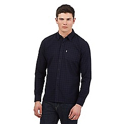 Levi's - Navy checked shirt
