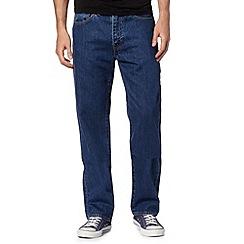 Levi's - 751&#8482 stonewash blue straight leg jeans