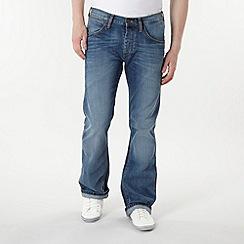 Wrangler - Blue 'Miles Longhorn' jeans