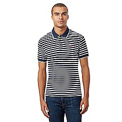 Levi's - Blue and white striped polo shirt