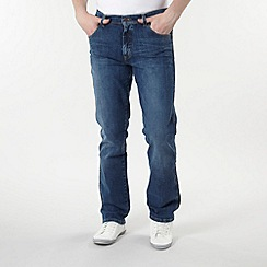 Wrangler - Miles copper blue bootcut jeans
