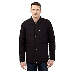 Levi's - Black padded utility coat