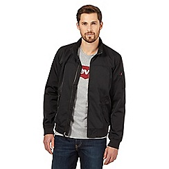 Levi's - Black zip bomber jacket