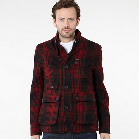 Wrangler - Red wool blazer