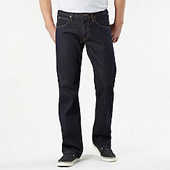 Lee - Flint dark blue dusty rinse bootcut jeans