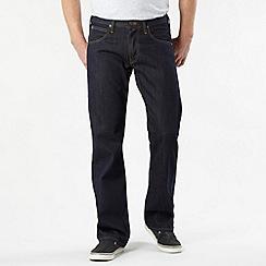 Lee - Flint dark blue dusty rinse bootcut jeans