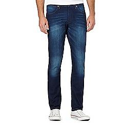 Wrangler - Bostin blue vintage wash jeans