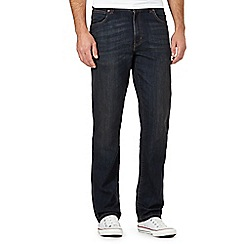 Wrangler - Big and tall blue rinse jeans