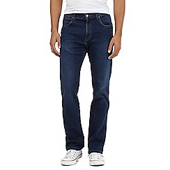 Wrangler - Arizona blue mid wash water resistant jeans