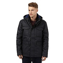 Wrangler - Big and tall black waterproof jacket