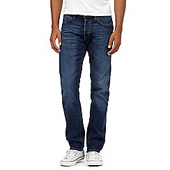 Lee - Blue mid wash jeans