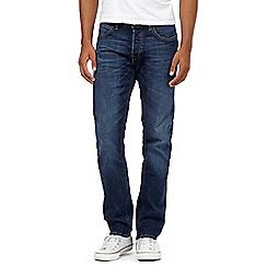 Lee - Blue mid wash jeans