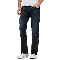 Lee - Big and tall lee - brooklyn blue dark wash straight leg jeans