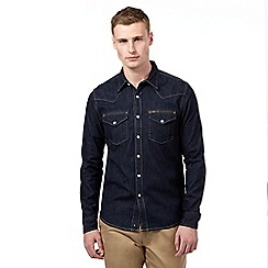 Lee - Dark blue denim shirt