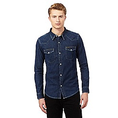 Lee - Navy denim shirt